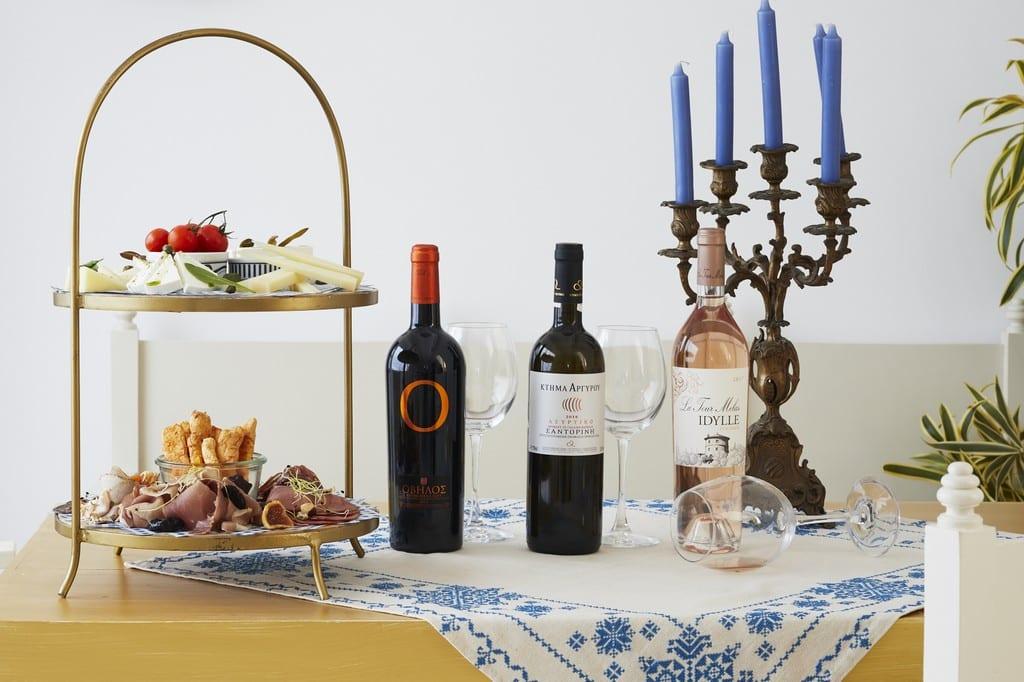 Agaze Santorini Restaurant bistro pyrgos